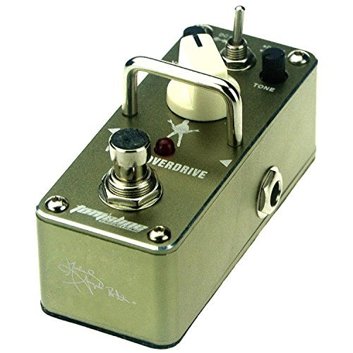 Tom'sline Engineering Vintage Overdrive Boost Pedal AGR3S von Michael Angelo Batio Signature Gitarreneffektpedal - Natürliche Test Booster
