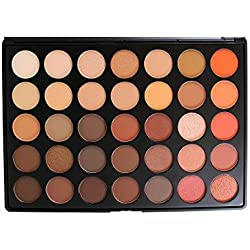 Morphe 35 Color Nature Glow Eyeshadow Palette - 35O by Morphe Brushes