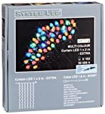 System LED 465-51 Curtain LED 100 x 200 cm Extra, multicolor