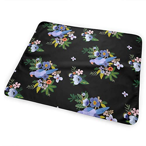 a1543619bfda 18 Kauai Blooms BLACK 90 DEGREES Washable Incontinence Pad Baby Changing  Pad Pet Mat Large Size