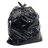 200x Heavy Duty Black Refuse Sacks Strong Bin Bags Liner Pouch Rubbish 160G