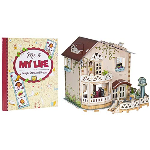 Cozy Cottage - My First Dollhouse 3-D Puzzle & Activity Book -