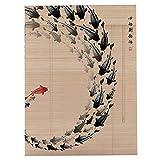 FINLR marca Tapparelle Di Bambù/Persiane Per Finestre, Isolamento Termico, Parasole, Impermeabili, Durevoli, Molteplici Dimensioni E Colori (colore : A, dimensioni : 160x225cm)