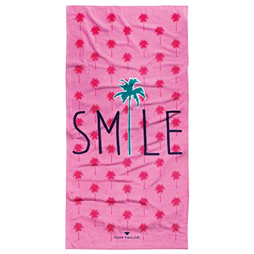 Tom Tailor Strandtuch 85x160 cm Smile pink