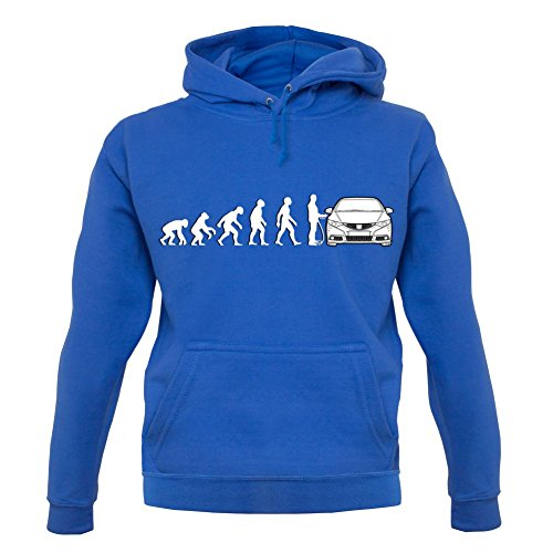 evolution-de-lhomme-honda-civic-unisex-pull-bleu-m
