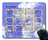 2019 Kalender mit wichtigen Feiertagspads, Mauspad, Sternenhimmelkunst Gaming-Mauspad