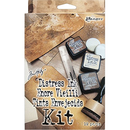 Ink Blending Tool (Ranger Tim Holtz Distress Ink-Set, mehrfarbig, 11,43 x 18.79 X 4.06 cm)