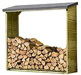 Gartenpirat Kaminholzregal, Brennholzregal Aktion Holzlager
