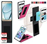 Samsung Galaxy A9 Pro Hülle Cover Case in Pink -