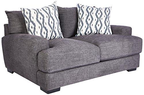 Franklin Furniture Journey Loveseat, groß, Graphit - Sofa Möbel Franklin