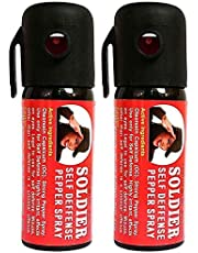 Soldier Self Defense Pepper Spray for Women Safety/Protection {35gm./55ml.}