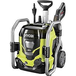 Ryobi 5133002832 RPW36120HI Nettoyeur Haute Pression sans Batterie avec Flacon pour détergent 320 l/h 1600 W