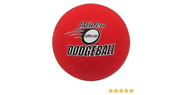 Baden School//Gym Play Dodgeball Indoor//Outdoor Childrens Soft Rubber Ball