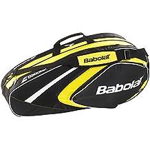 Babolat X 6 Club Fundas para raquetas de tenis, Unisex adulto, Amarillo, Única