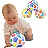 Tenflyer Children Kids Educational Toy Baby Learning Colors Number Rubber Ball Plaything