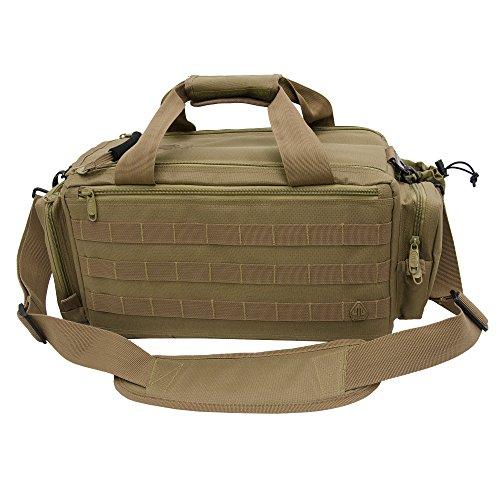UTG All-in-1 Range/Utility Go Bag Schützentasche, Sandfarben, 20.3 x 22.8 x 53.3 cm