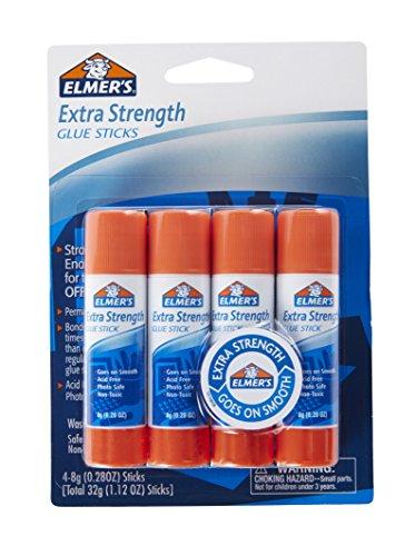 Office Klebestift Elmers (Elmer 's Extra Stärke Office Klebestifte 7,9 ml 4-Pack weiß)