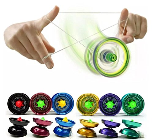 Cool Metal Design High Speed Professional Yo-yos - Ein Lieferumfang