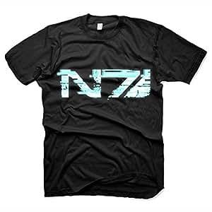 Mass Effect - T-Shirt N7 GLITCH (in XXL)