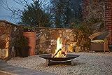 Feuerstelle sunset, anthrazit, Ø 80 cm
