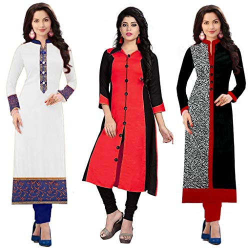 RAMDEV Women's Dress Material(03...