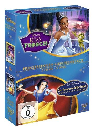 Küss den Frosch / Schneewittchen und die sieben Zwerge [3 DVDs] (Die Schneewittchen Und Zwerge Sieben Disneys)