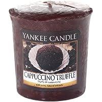 Yankee Candle Samplers Candele Votive Cappuccino Truffle, Cera, Porpora, 4.5 x 4.5 x 5.3 cm - Casa Casa Miscela Di Caffè
