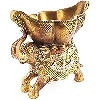 Räucherschale Räuchergefäß indischer Elefant 21x19 cm aus Kunstharz gold orientalisch verziert, Schale Halter... preisvergleich bei billige-tabletten.eu