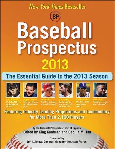 Baseball Prospectus 2013 by Baseball Prospectus (26-Mar-2013) Paperback