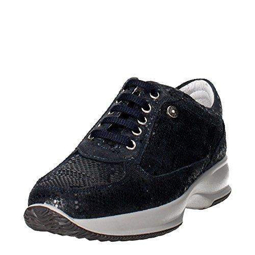 Imac 52030 Sneakers Femme Suède Bleu