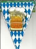 Boland 54200–filare banderines jarra Día La cerveza, azul/blanco