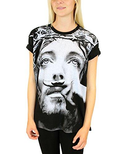 Eleven Paris Damen T-Shirt MOSUS W Schwarz (M06 BLACK)