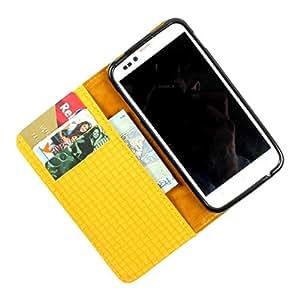For Karbonn S1 Titanium - PU Leather Wallet Flip Case Cover