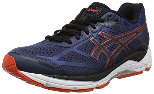 Asics Herren Gel-Foundation 12 Laufschuhe, Blau (Insignia Blue/Black/Cherry Tom), 41.5 EU