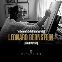 Complete Solo Piano Works of Leonard Bernstein [Import USA]