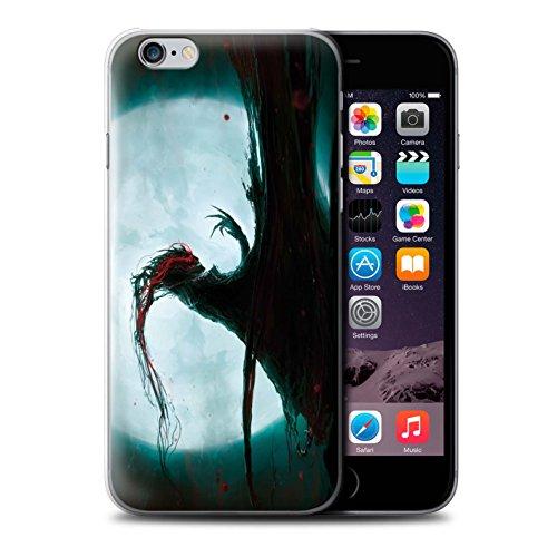 Offiziell Chris Cold Hülle / Case für Apple iPhone 6 / Kriegsheld/Warlock Muster / Dämonisches Tier Kollektion Dramargu/Vollmond