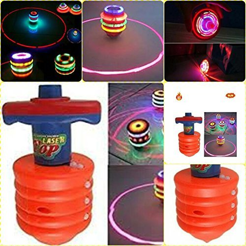 Sufi World Laser Spinning Top with attractive LED Light and high sound system  available at amazon for Rs.279