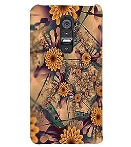 PRINTSWAG FLOWERS PATTERN Designer Back Cover Case for LG G2