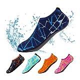 Yifeiku Co., Ltd. plongée Chaussettes de natation Barefoot Chaussures de l'eau à séchage rapide Impression antidérapant garder au chaud–Intérieur/extérieur Sports/plage/jeu/bain/Surf/plongée/Yoga pour adultes et enfants XXL Orange