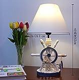 Unbekannt Set Tischlampe-Lampe Kreative Stilvolle und Einfache kontinentale Ausstattung Kinderzimmer Nachttischlampen, Baumstümpfe