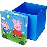 Peppa Pig Sitzhocker mit Aufbewahrungsfunktion [Edizione: Germania]