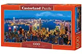 Castorland B-060290 Hong Kong Twilight, Puzzle 600 Teile