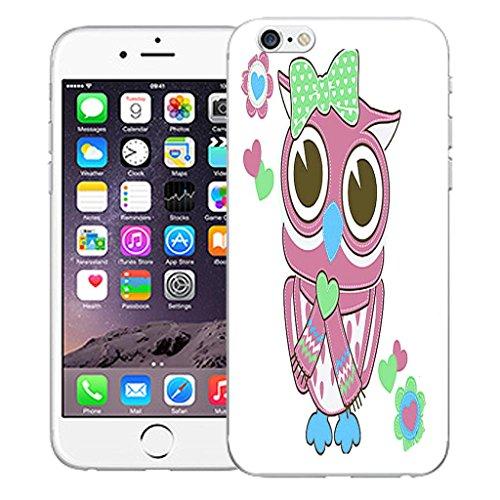 """Nouveau iPhone 6 4.7"""" inch clip on Dur Coque couverture case cover Pare-chocs - mexican owls Motif avec Stylet lady owl"""