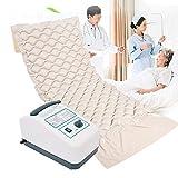 WuLien Bubble-Luftmatratze mit Kompressor, Wechseldruck Anti-Dekubitus-Matte für Bettlägerig Ältere oder Patienten Sphärische aufblasbaren Bett Pad, Lieben -