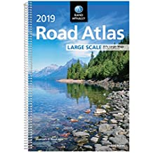 Rand Mcnally 2019 Road Atlas Large Scale United States