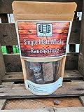 Räucherholz Chunks aus altem Single Malt Whiskyfass Grill Smoker
