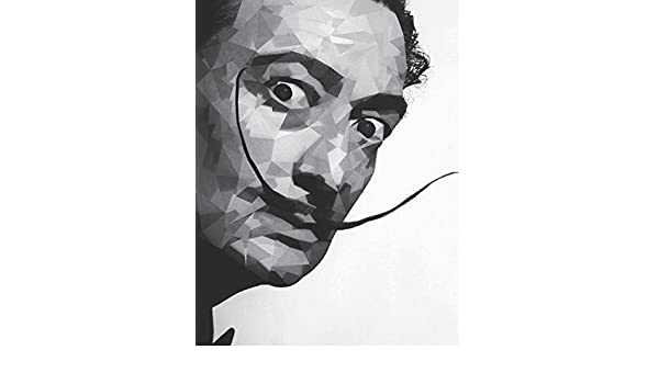 El Salvador Dali Notebook Large Size 8.5 x 11 Ruled 150 Pages