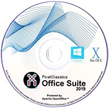 Office Suite 2019 Compatible With Microsoft Office 365 2016 2013 2010 2007 Home Student Professional & Business Software DVD CD Powered by Apache OpenOfficeTM for PC Windows 10 8 7 Vista XP & Mac OS X