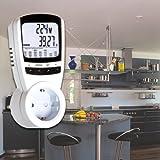 3680 Watt Stromkostenmeßgerät Stromverbrauch Energieverbrauch LCD Stromgerät