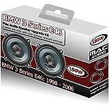 Fli Audio - Altavoces para las puertas delanteras de coche BMW 3 Series E46 (13 cm, 180 W)